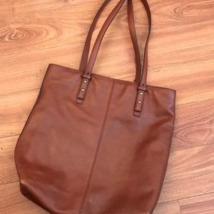 Vera Bradley Gallatin Leather Tote Bag